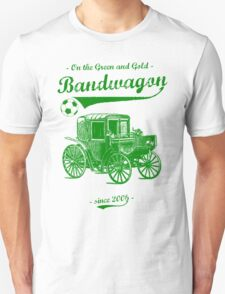 On the Green and Gold Bandwagon - Green T-Shirt