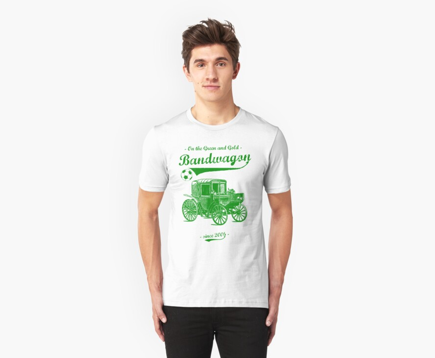 On the Green and Gold Bandwagon - Green by stillbeing