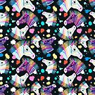 colorful zebra pattern  by Tanor