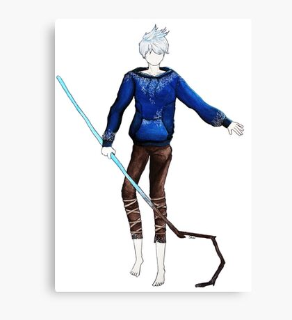 Jack Frost in the air (Rise of the Guardians) Canvas Print