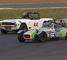 Lotus 7 by Willie Jackson