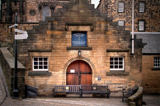The Royal Scots Museum by Lynden