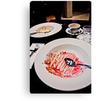 What's For Dessert? Canvas Print