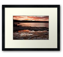 Bellerive Bluff Sunrise #2 Framed Print