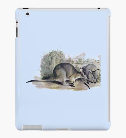 Western Brush wallaby iPad Case/Skin