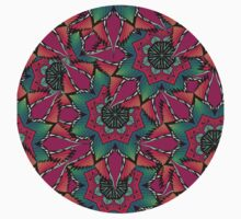 Psychedelic ornament Kids Clothes