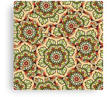 Psychedelic ornament Canvas Print
