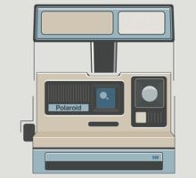 Retro Camera Polaroid 80s Electronics by Florian Rodarte