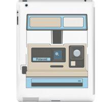 Retro Camera Polaroid 80s Electronics iPad Case/Skin