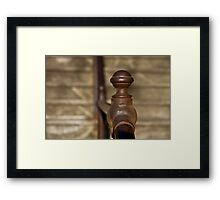 Well Worn - Sydney Harbour Stairs Framed Print