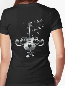 Floral Guitar T-Shirt