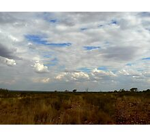 Northern Territory Clouds Photographic Print