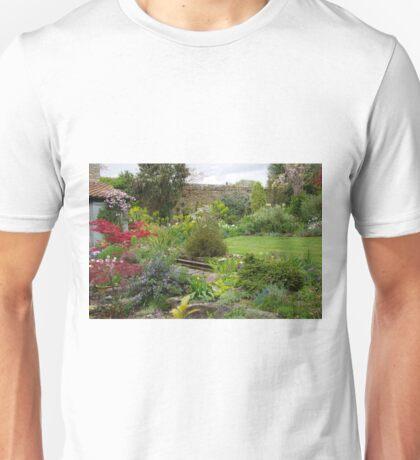 A Cottage Garden in Somerset Unisex T-Shirt