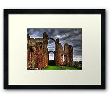 Lindisfarne Priory (HDR) Framed Print