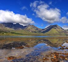 Black Cuillin Reflections by leapyearbrian1