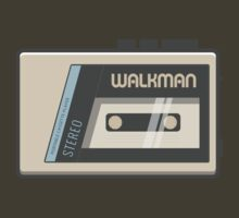 Retro Walkman Music Player 80s Electronics by Florian Rodarte