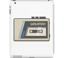 Retro Walkman Music Player 80s Electronics iPad Case/Skin