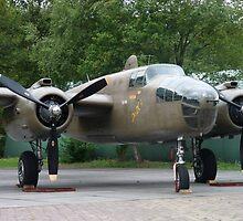 North American B-25  01 by angeljootje
