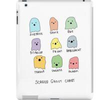 Scared Ghost Chart iPad Case/Skin