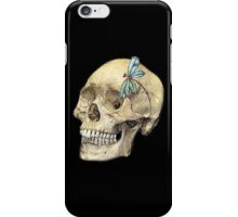 Skull & Dragonfly  iPhone Case/Skin