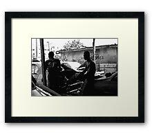 Boys In The Hood Framed Print