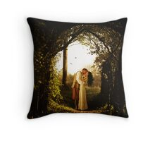The Quiet Things That No One Ever Knows... Throw Pillow