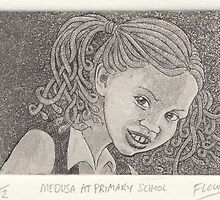 Medusa at primary school by SnakeArtist