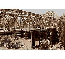 Hampden Bridge is Falling Down Photographic Print