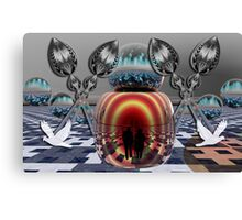 The Planet of Peace Canvas Print