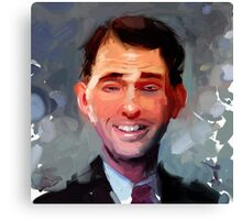 Governor Scott Walker Canvas Print