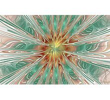 Center Hot Energetic Explosion Photographic Print