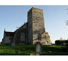 The Old Church in Suffolf Photographic Print
