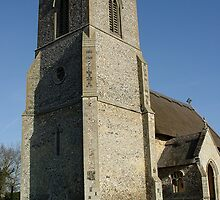 The Old Church in Suffolf 3 by Feesbay