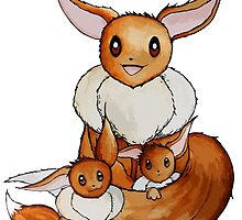 Eevee Family by studinano
