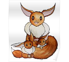 Eevee Family Poster