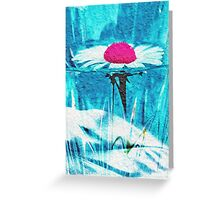 Frozen in vase Greeting Card