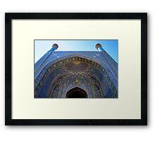 Imam Mosque - Isfahan - Iran Framed Print