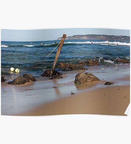 Rocky Shoreline - Australia Poster