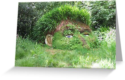 Giant's Head in The Lost Gardens of Heligan by Denise Martin