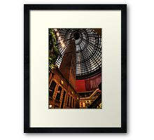Shot in Time - Coops Shot Tower ,Melbourne - The HDR Experience Framed Print