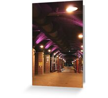 The Dark Arches Greeting Card