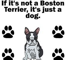 If It's Not A Boston Terrier by GiftIdea