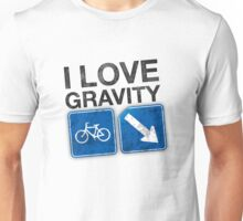 I Love Gravity Unisex T-Shirt
