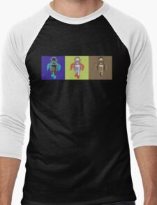 RETRO ROBOTS Men's Baseball ¾ T-Shirt