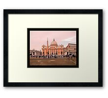 Was there a female Pope? -Vatican City Framed Print