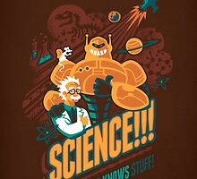 Science!!! It Knows Stuff! (brown) by Waynem79