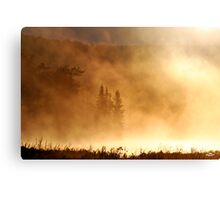 Apocalyptical Weather Report Canvas Print