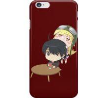 Araragi x Shinobu Chibi No. 2 iPhone Case/Skin
