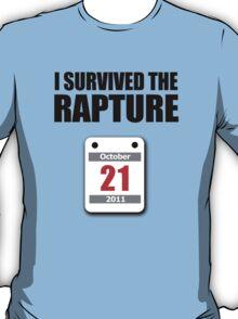 I Survived The Rapture (October 2011) T-Shirt