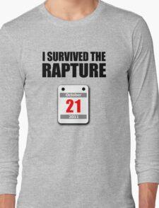 I Survived The Rapture (October 2011) Long Sleeve T-Shirt